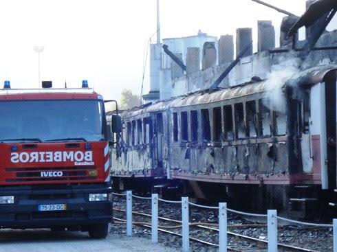 Incêndio na Estação de Tua