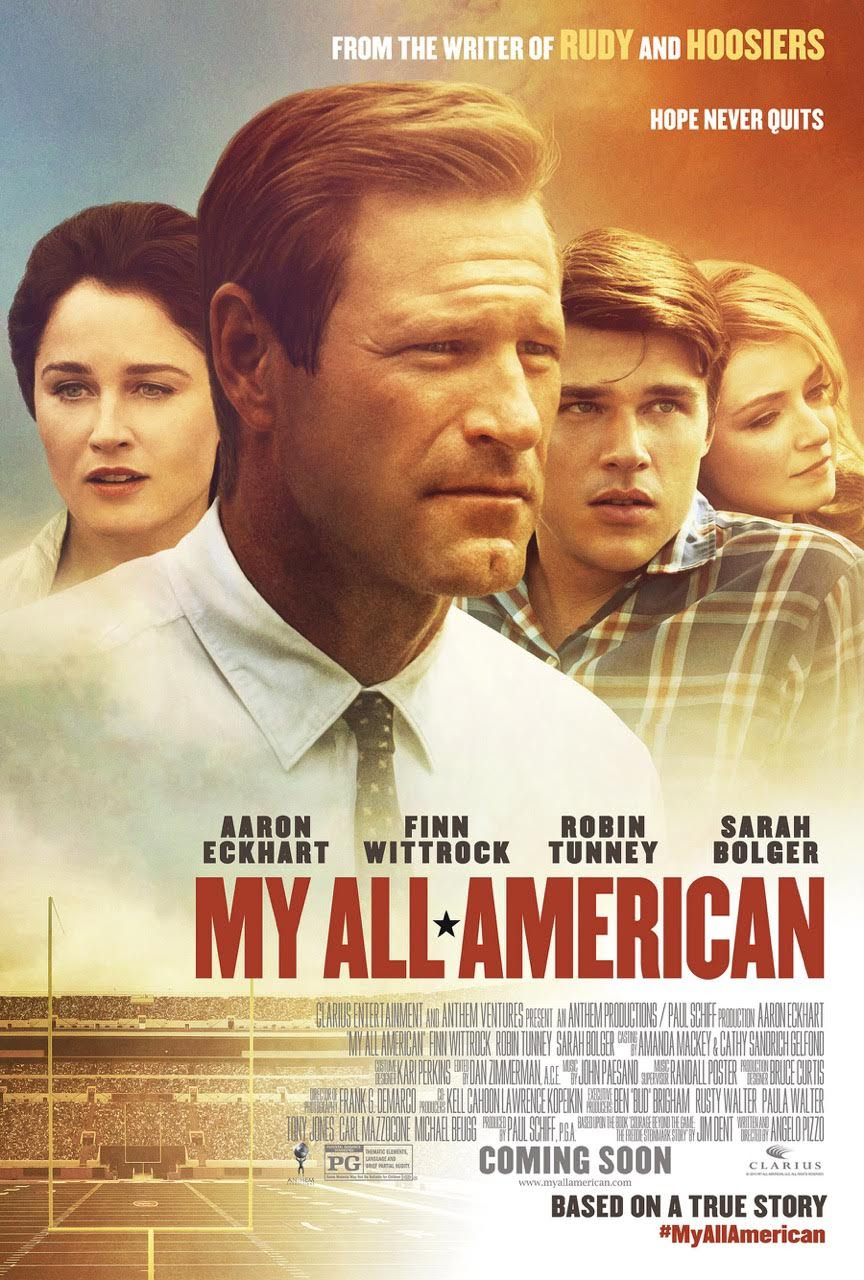 Enter the My All American Giveaway. Ends 11/11.