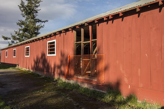 Fairgrounds horse barn put out to pasture | Islands' Sounder