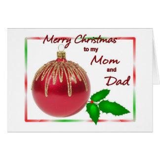 Merry Christmas Mom Cards | Zazzle