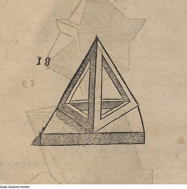 Fotothek df tg 0000849 Geometrie ^ Perspektive ^ Tetraeder.jpg