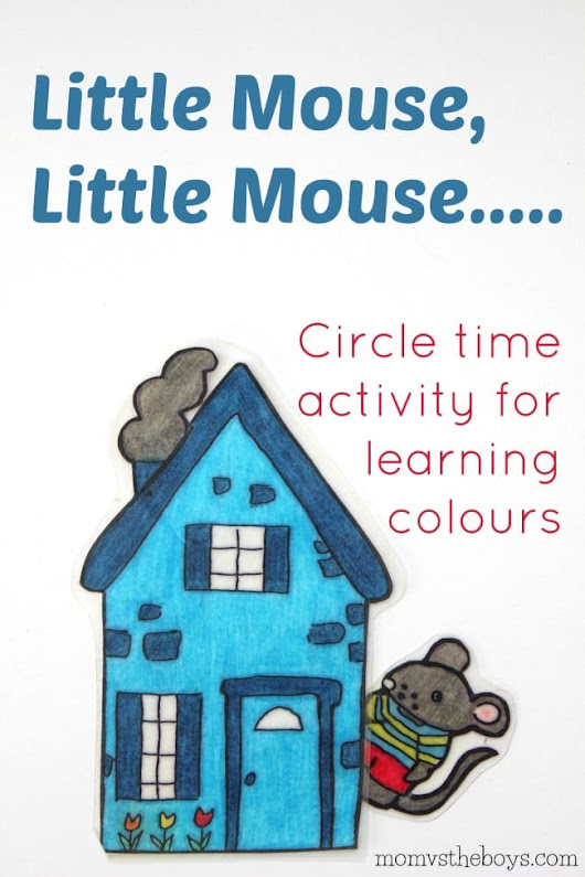 Little Mouse, Little Mouse.....Activity for Learning Colours
