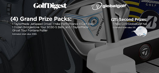 GlobalGolf.com Contests and Surveys
