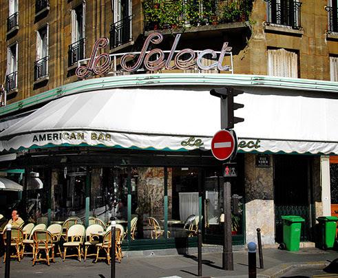 Cafe Le Select, Paris