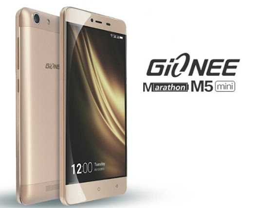 Gionee M5 Mini with 5″ HD display, 2GB RAM, 4000mAh battery launched in Nigeria