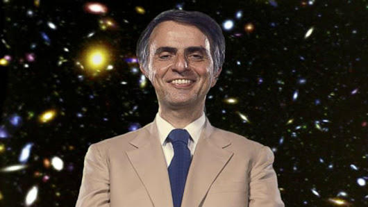 A recording of Carl Sagan saying the word 'billions' once, but stretched for an entire hour