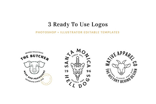 The Logo Kit - Free Sample - Graphic Ghost