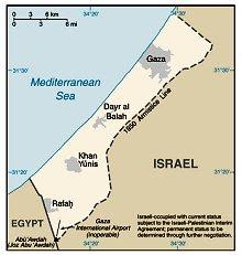 Faixa de Gaza - Gaza Strip