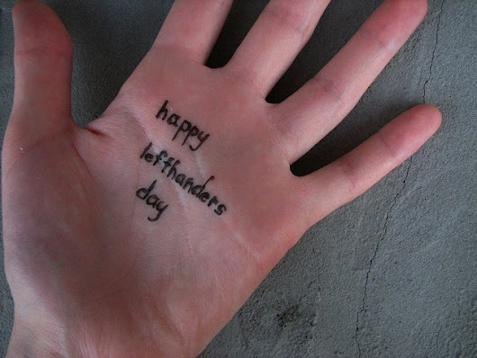 Happy Left-Handers Day - ILoveUSA.com