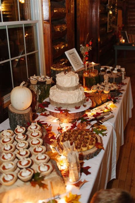 Best 25  Fall wedding desserts ideas on Pinterest   Fall