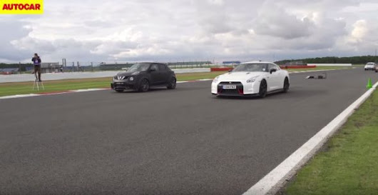 Watch The Juke-R 2.0 Drag Race The Nissan GT-R Nismo