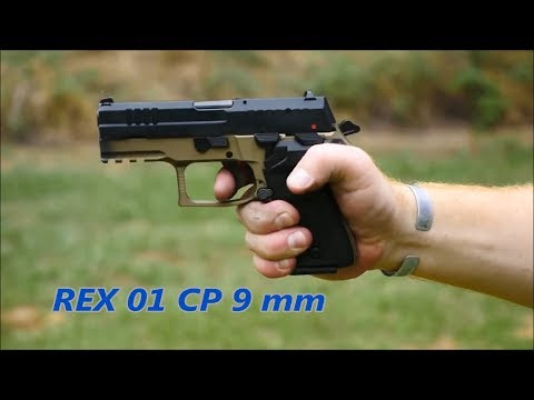 Pistola REX Zero 1 será produzida em Anápolis