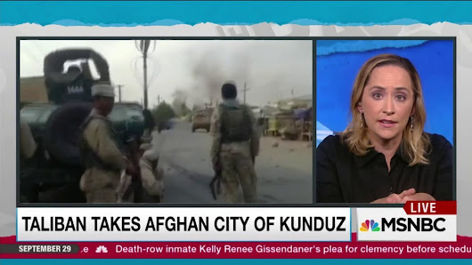 US working with Afghan forces against new Taliban gains | MSNBC