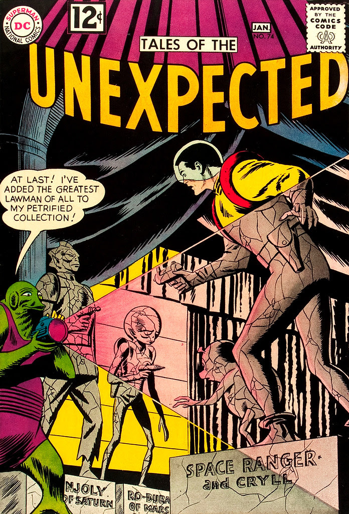 Tales of the Unexpected #74 (DC, 1963) Bob Brown cover