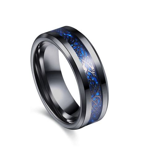 Aliexpress.com : Buy Black 316L Stainless steel Ring for
