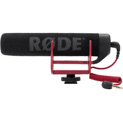 Rode Microphones VideoMic Go On-Camera Shotgun Microphone - Condenser Microphones - Microphones & Wireless Systems - Musician's Friend - RODVMGO