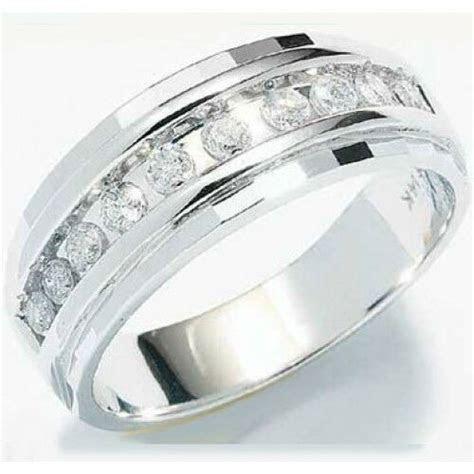 1/4ct Mens Wedding Anniversary Diamonds Ring Band 10k