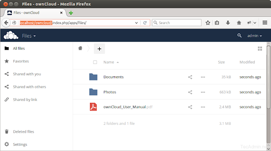 How to Install ownCloud 8 on Ubuntu, Debian & Mint