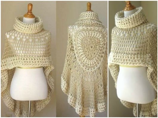 Crochet Poncho - Free Patterns All The Best Ideas in 2017