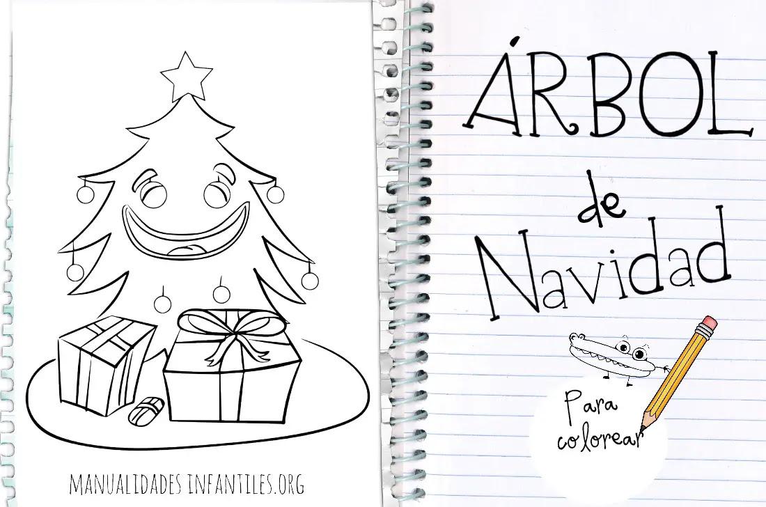 Arbol De Navidad Para Colorear Actividades Para Ninos