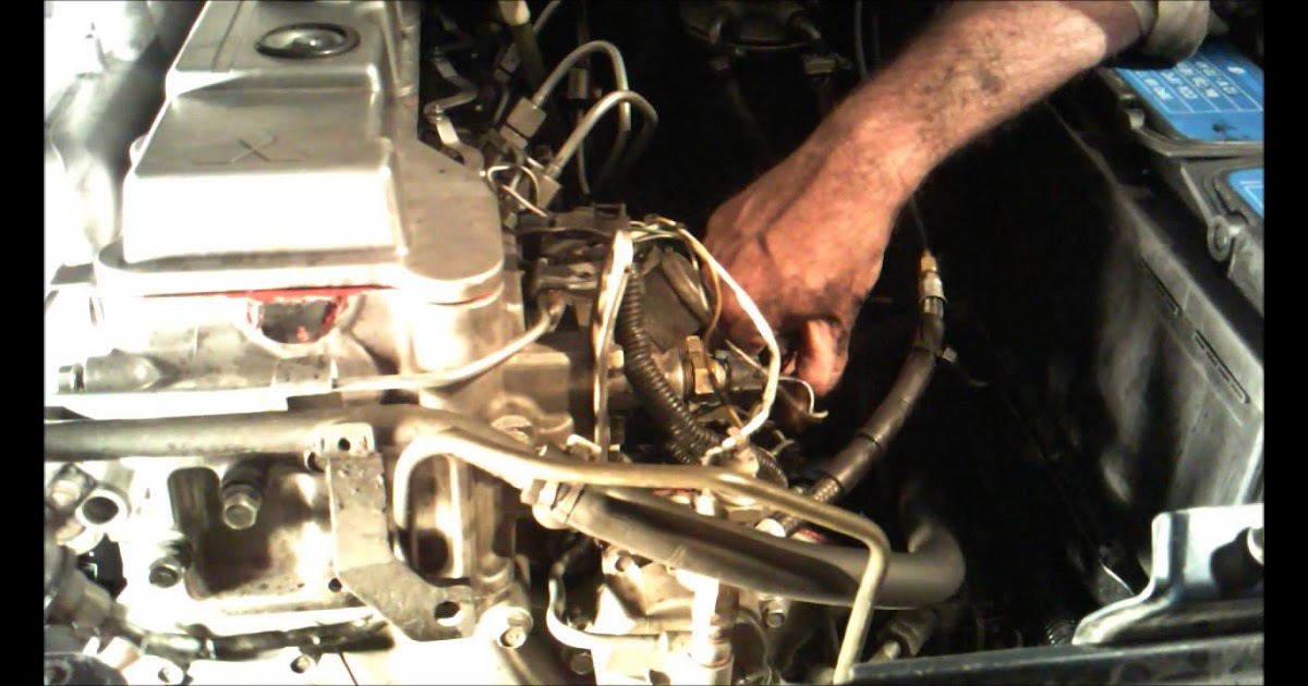 97 INFO HOW TO TIMING 4M40 ENGINE WITH VIDEO TUTORIAL