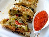 Roasted Vegetable Strudel and A Farewell to the Garden