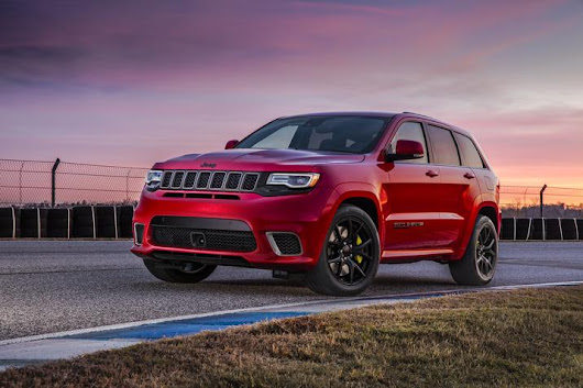 2018 Grand Cherokee Trackhawk Is 'Most Powerful and Quickest SUV Ever'
