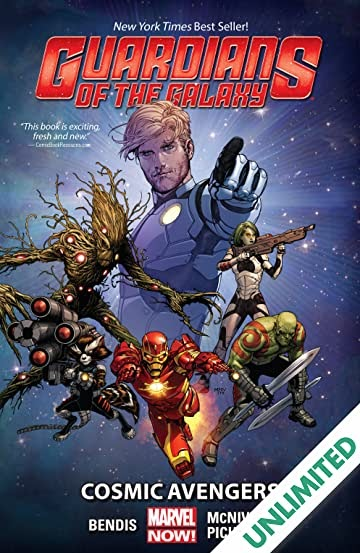 Avengers And Guardians Of The Galaxy Comic