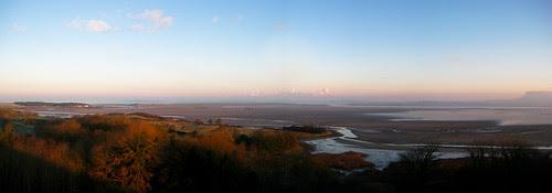 early morning panorama, Sligo Harbour