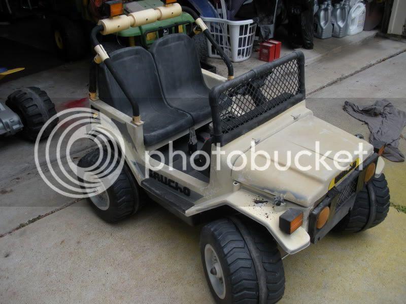 Modified Power Wheels Fcs Old Peg Perego Gaucho