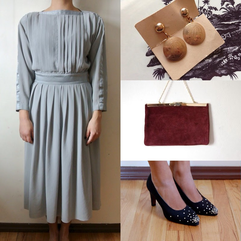 How to Wear Vintage • Mix it Up.