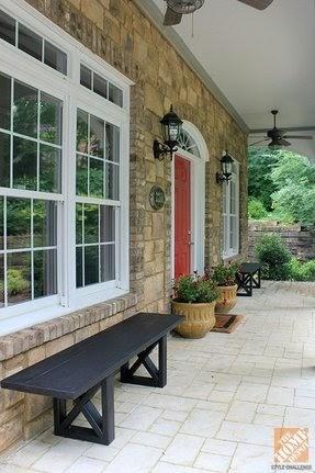 Trends For Front Door Patio Designs Photos