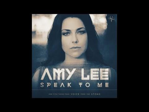 "Escucha la nueva balada fantasmal de Amy Lee ""Speak To Me"" [RollingStone,Marzo 2017]"