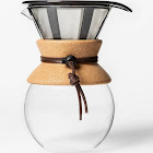 Bodum 8 Cup / 34oz Pour Over Coffee Maker, Brown