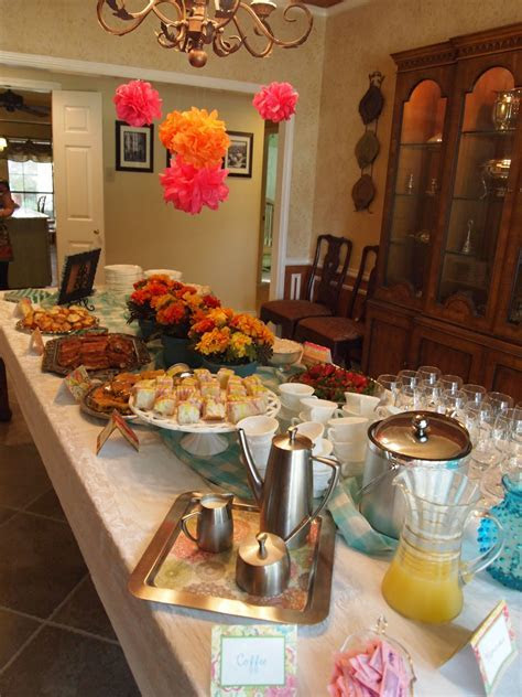 "Spring Brunch Bridal Shower at ""cheap crafty mama"" blog"