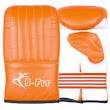 Orange Leather Bag Gloves, Special Underlay Mold or Machine Mold. BF-3515-N