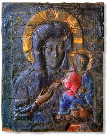 icone Vlahernskaya, la Vierge Blachernitissa