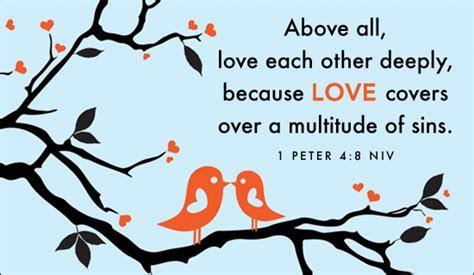 Free Love   1 Peter 4:8 NIV eCard   eMail Free