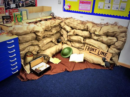 "Carol Stobbs on Twitter: ""#PedagooFriday my room is just about ready for open day. Really pleased with my mini trench. """