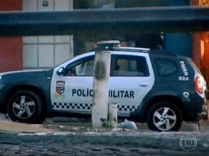 Viatura 924, a 'Viatura do Mal' (Foto: Reprodução/Rede Globo)