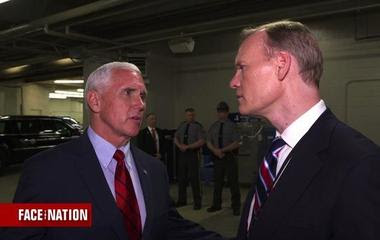 Pence discusses his recent trip to Asia amid North Korea tensions
