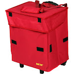 dbest Products Cooler Smart Cart, Red