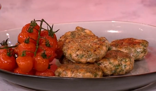 Phil Vickery family fishcakes with egg whites, mustard ...