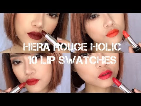 My HERA Rouge Holic Collection Lip Swatches