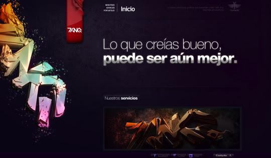 darksites20 50 Diseños web oscuros para inspirarte