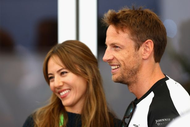 Jenson Button's marriage is reportedly over