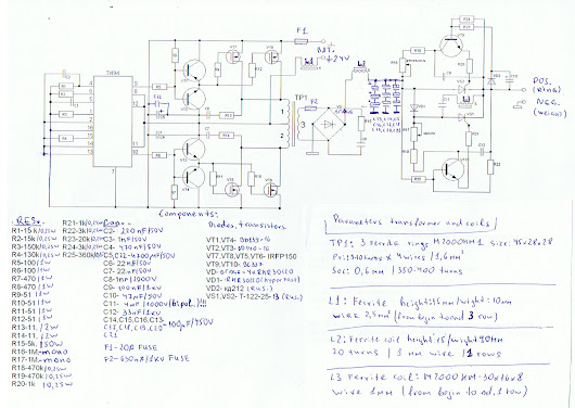 Development and pictures of HV Generator -