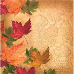 Autumn's elegance thanksgiving lunch napkins 16ct. | Party Source