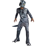 Rubie's Costume Jurassic World Fallen Kingdom Velociraptor Child Halloween Costume, Blue, Large