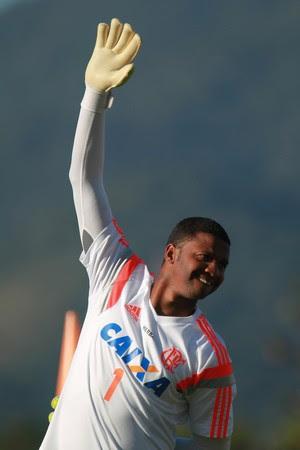 Felipe treino Flamengo (Foto: Gilvan de Souza / Flamengo)